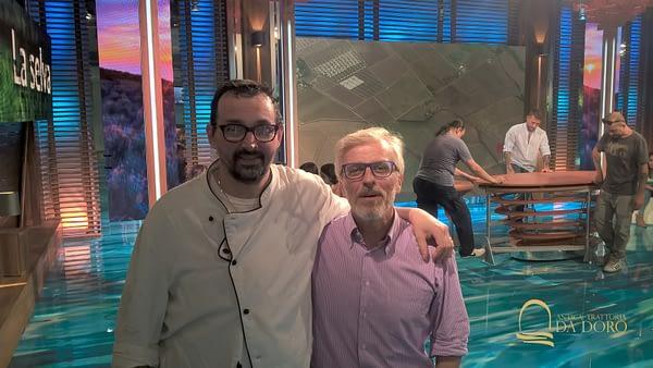 Giovanni Scapin con Leonardo Romanelli