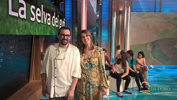 Giovanni Scapin con Sveva Sagramol