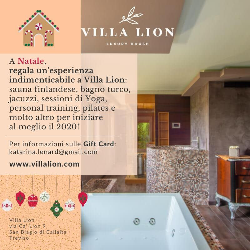 Gift Card di Villa Lion
